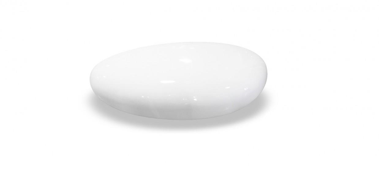 Table basse galet design blanc et pas cher - Table basse blanche design ...
