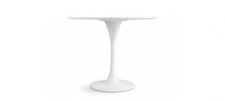 table manger design ronde 90cm. Black Bedroom Furniture Sets. Home Design Ideas