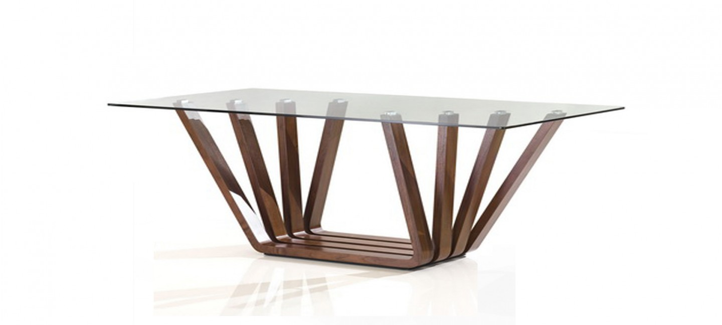 Table manger design en bois berobella for Table a manger bois