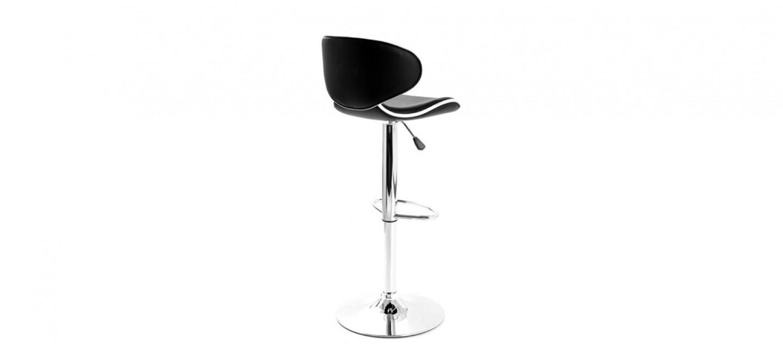 tabouret de bar design noir volta. Black Bedroom Furniture Sets. Home Design Ideas