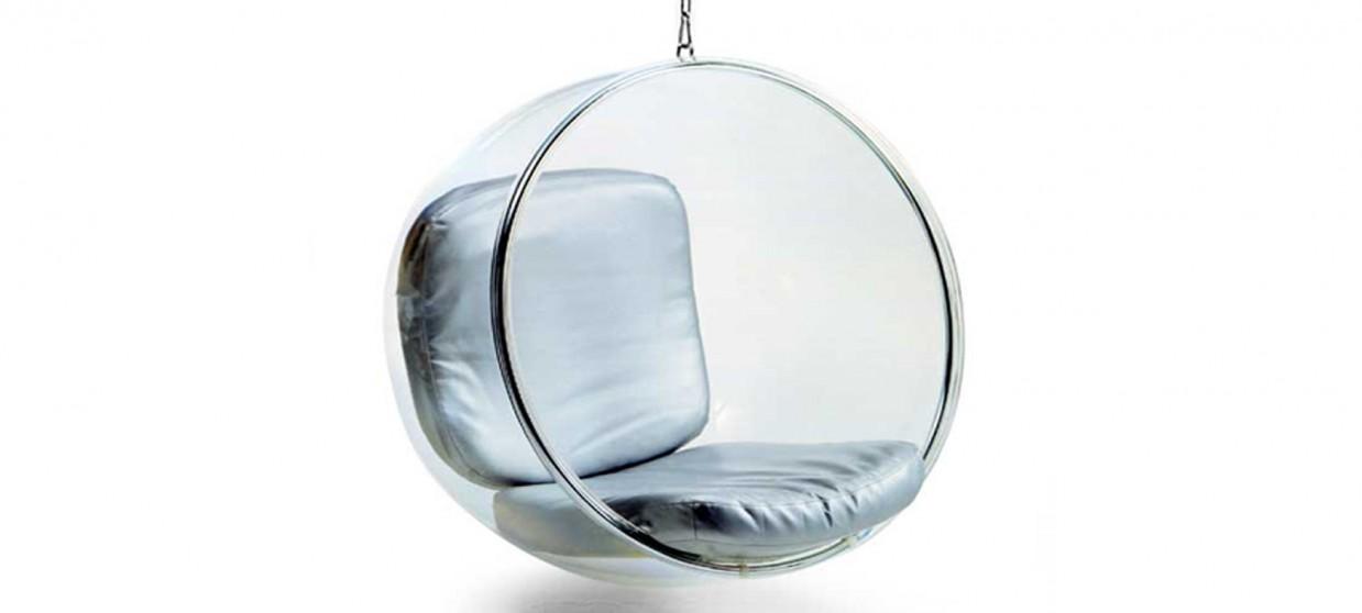 fauteuil suspendu bubble chair. Black Bedroom Furniture Sets. Home Design Ideas