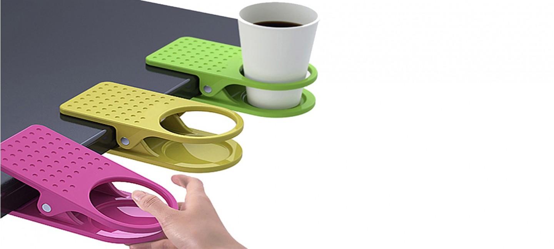 pince porte gobelet pour table prix rikiki. Black Bedroom Furniture Sets. Home Design Ideas