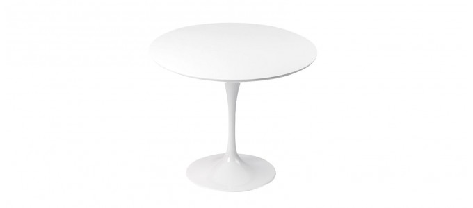 Table design ronde 90cm