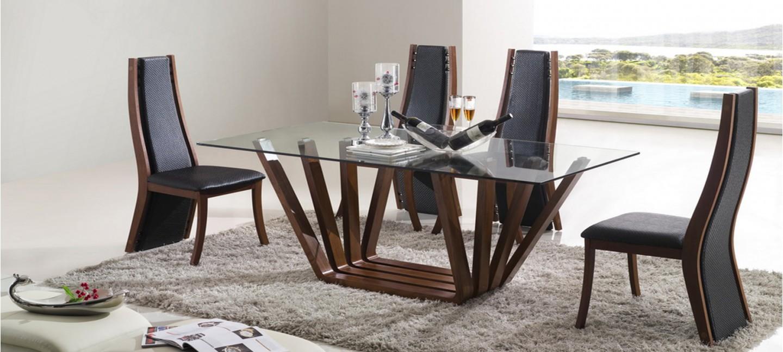 Table manger design en bois berobella - Table a manger en bois ...