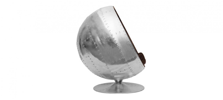 Fauteuil aviator boule ball chair - Fauteuil boule pas cher ...