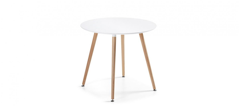 table manger ronde design a prix cass. Black Bedroom Furniture Sets. Home Design Ideas