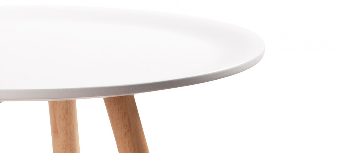 Emejing table a manger blanche ronde ideas amazing house for Table a manger 160 cm avec rallonge