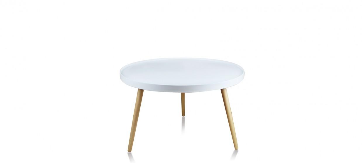 table basse ronde blanche design a couper le souffle. Black Bedroom Furniture Sets. Home Design Ideas