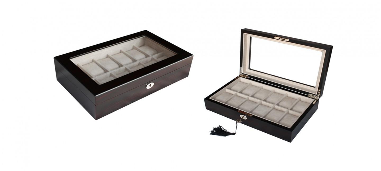 coffret 12 montres s curis. Black Bedroom Furniture Sets. Home Design Ideas