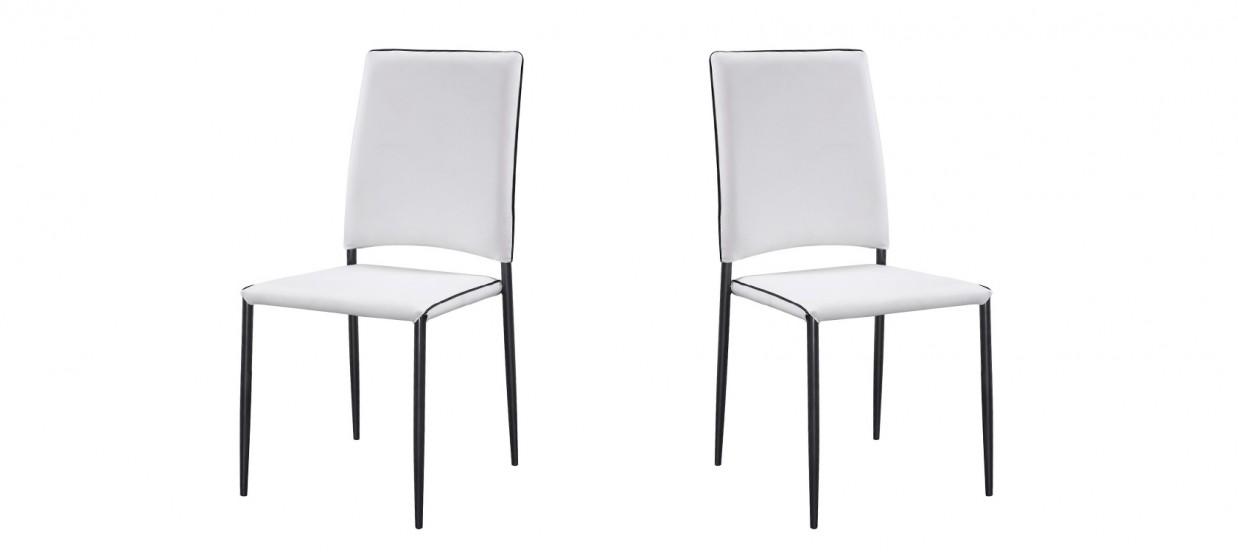 chaise de cuisine elegante a prix abordable With salle À manger contemporaineavec chaise blanche de salon