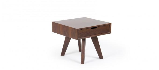 Table de chevet bois - Janeiro