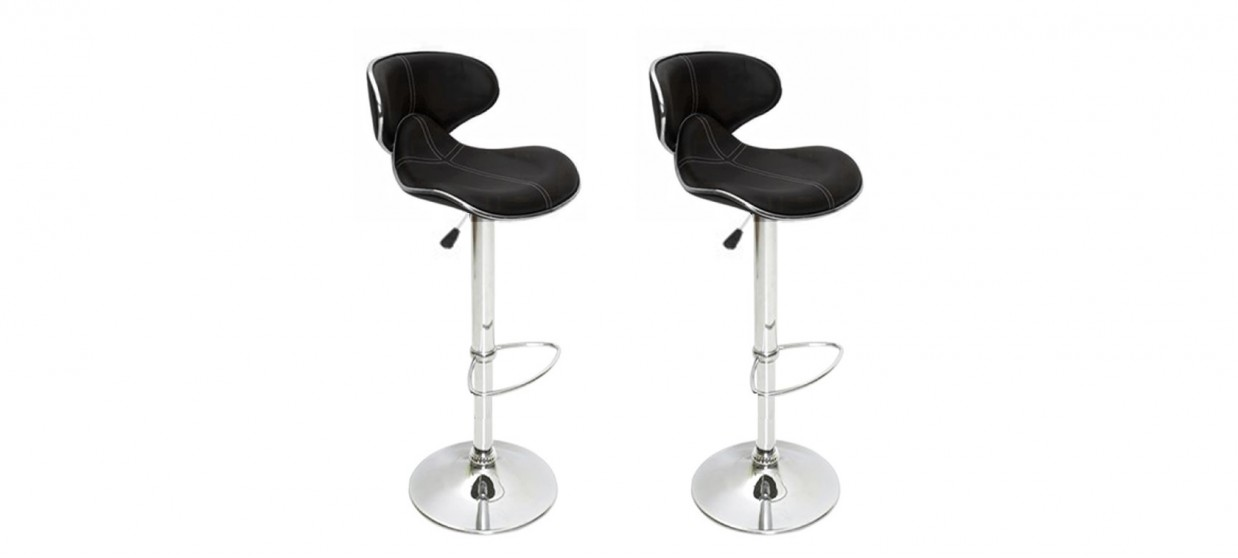 mobilier design tabouret bar par lot de 2. Black Bedroom Furniture Sets. Home Design Ideas