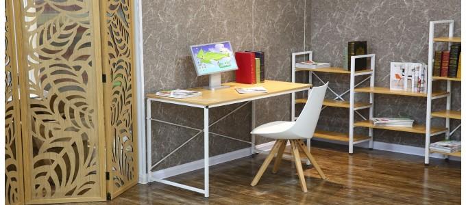 Bureau en bois et métal - Tanaro