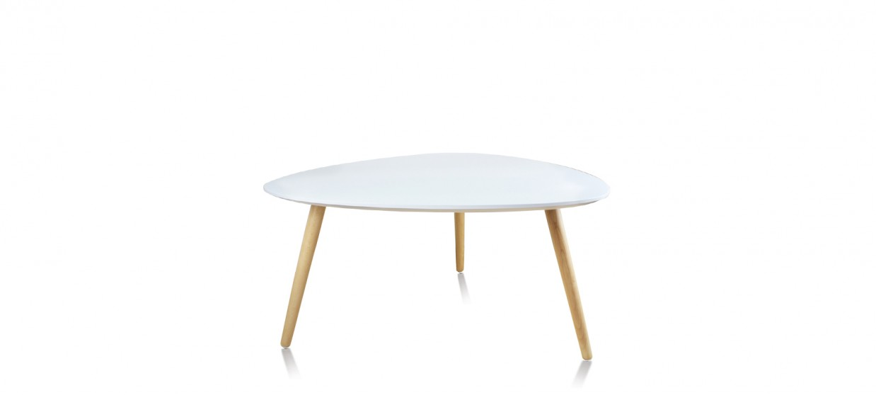 Table scandinave blanche prix discount for Pied table basse scandinave