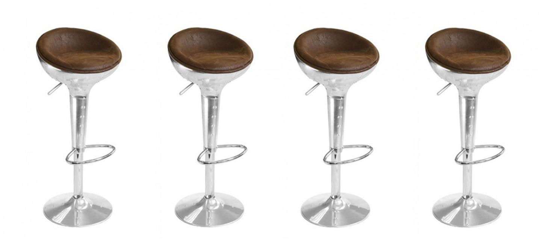 tabouret de bar design vintage aviator. Black Bedroom Furniture Sets. Home Design Ideas