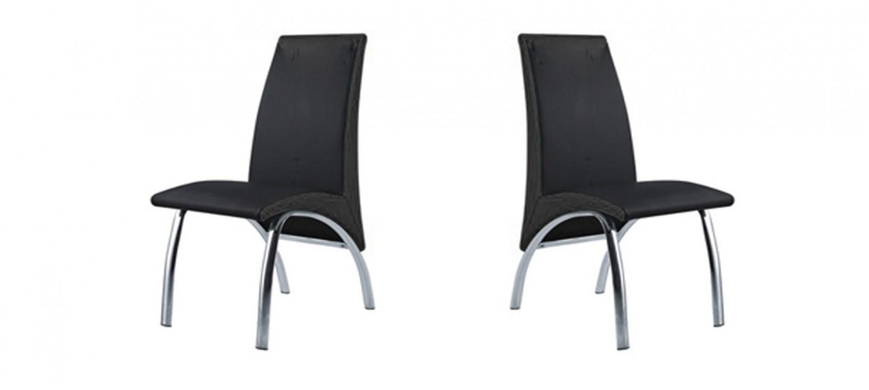 chaise de cuisine confortable noire prix imbattable. Black Bedroom Furniture Sets. Home Design Ideas