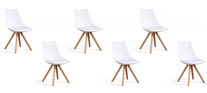 6 chaises au prix de 3 offre imbattable - Lot de 6 chaises ...