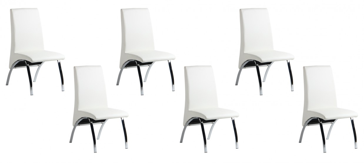 Chaises salle a manger blanches maison design for Chaises salle a manger blanches design