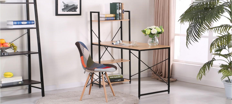 Bureau en bois rectangulaire erevan - Bureau bois et metal ...