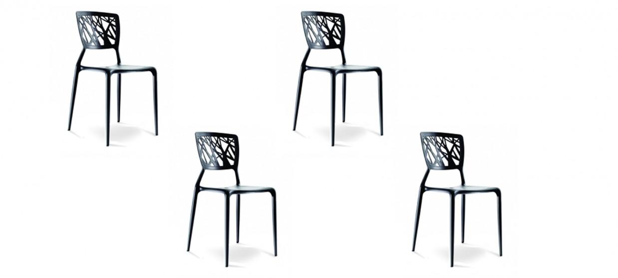 chaise design verdi. Black Bedroom Furniture Sets. Home Design Ideas
