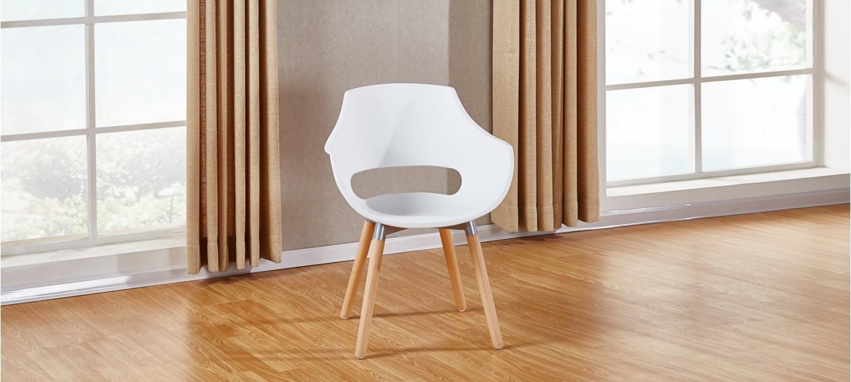 faauteuil blanc pieds bois. Black Bedroom Furniture Sets. Home Design Ideas