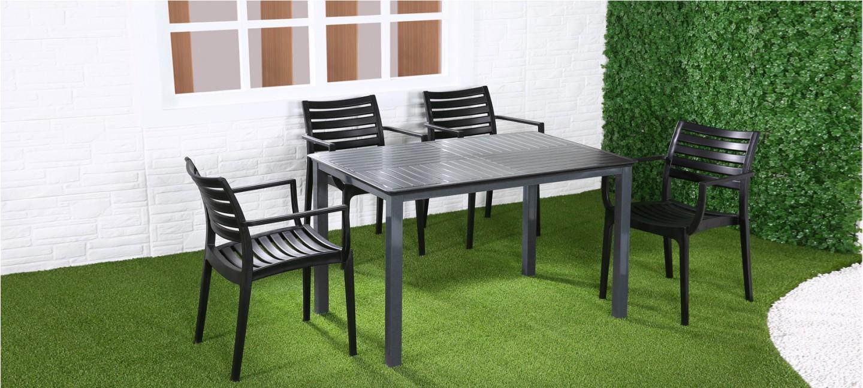 jardin table manger prix imbattable. Black Bedroom Furniture Sets. Home Design Ideas