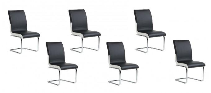 Lot de 6 chaises de salle à manger - Ottawa