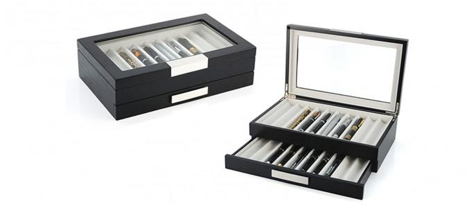 cadeaux offrir boites montres tuis cl s et coffrets bijoux designetsamaison. Black Bedroom Furniture Sets. Home Design Ideas