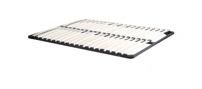 Sommier à lattes en bois 140 x 190 cm
