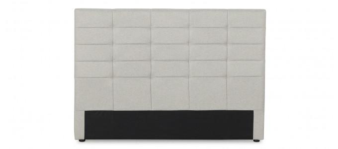 Tête de lit capitonnée beige 150 cm - Confort