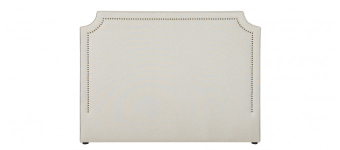 Tête de lit tissu taupe 150 cm - Detente