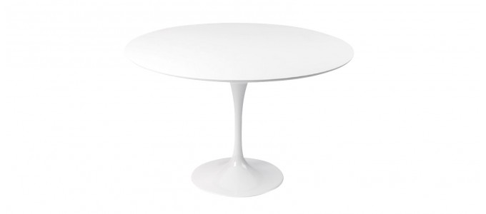 Table design ronde 120cm