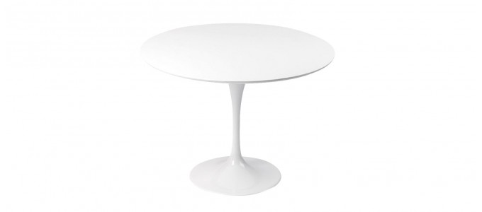 Table design ronde 110cm