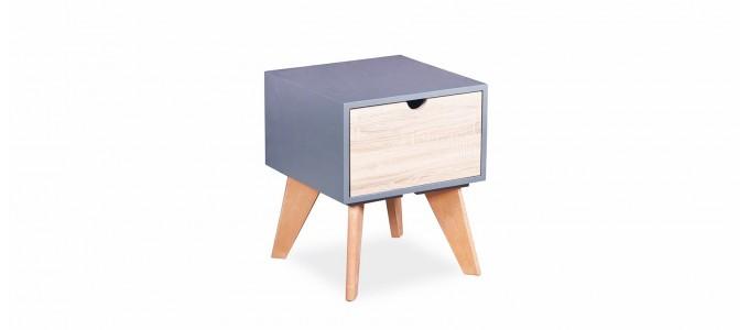 Table de chevet design rétro - Santos