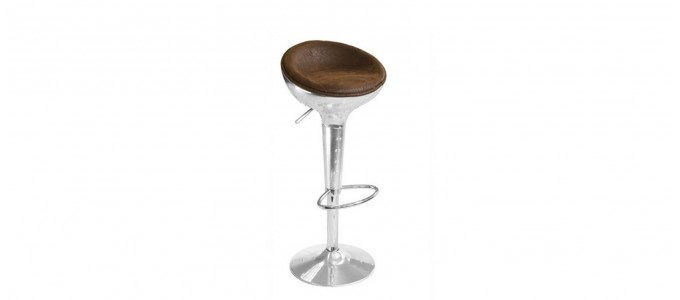 Tabouret de bar design vintage - Aviator