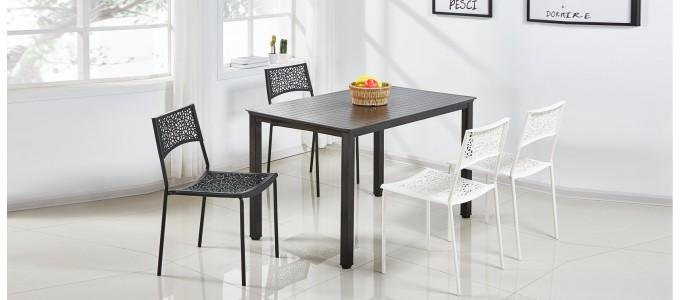Table à manger noire - Siene