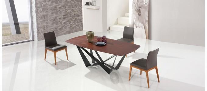 Table à manger design en bois - Suzana